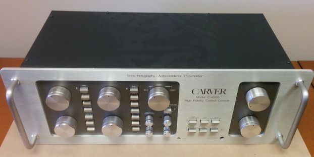 Carver C-4000 pre-amp for sale