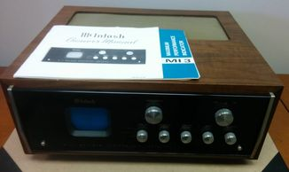 McIntosh MI-3 Performance Indicator Scope with wood case and manual