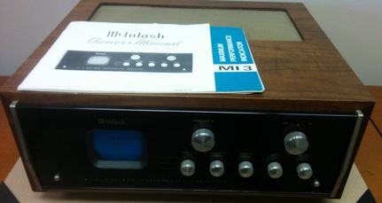 McIntosh MI-3 performance indicator audio scope oscilloscope for sale
