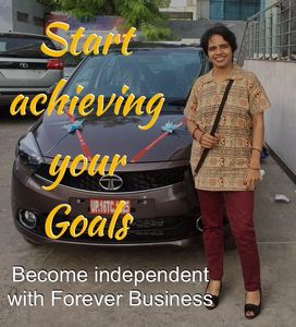 Start achieving your goals. Become financially independent with Forever Business.