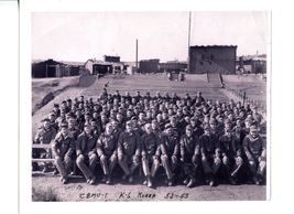 Group photo of the Seabees working at K-6.
