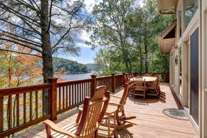 Beautiful 2 Story Lake Home with Dock