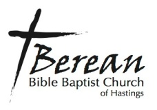 Berean Bible Baptist Church of Hastings