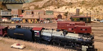 Huge model railway display photo