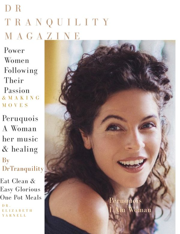 Peruquoise our beautiful cover model click here you read about the lady,her healing & sensual tunes