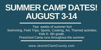 Summer camp, filed trips, sports, cooking, art