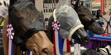 Great British Equinery of Indiana at Equine Affaire with our Fly Masks