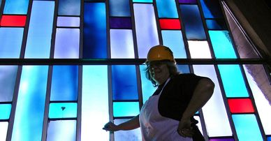 Stained glass restoration services from Art Glass Ensembles