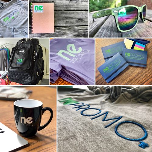 Promotional Products and Custom Apparel and Wearables with your logo on it