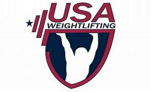 Official USA Weightlifting Barbell Club