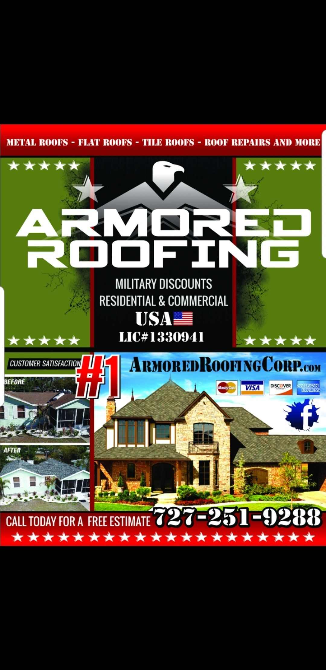 Armored Roofing