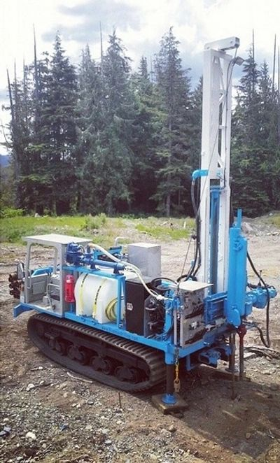 Track Environmental and Geotechnical Drilling in Comox BC