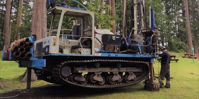 Track Environmental and Geotechnical Drilling in Campbell River BC