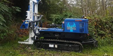 Geoprobe Direct Push Track Environmental and Geotechnical Drilling in Surrey BC