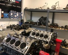BMW M5 and m6 Engine rebuild for blown motor