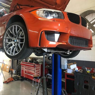 Bmw 1m In for repair at our Houston Bmw Repair Shop