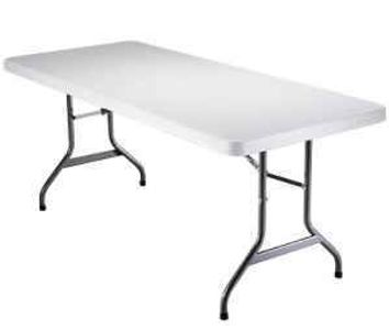 6' long rectangle table rental