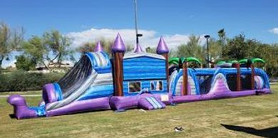 obstacle course rentals, infltable obstacle course, bounce house
