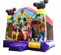 mickey mouse inflatable bounce house castle