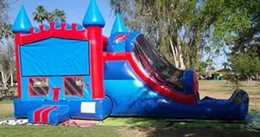 big 3 in 1 inflatable bounce house combo.