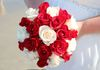 rose bouquet, with two rose colors