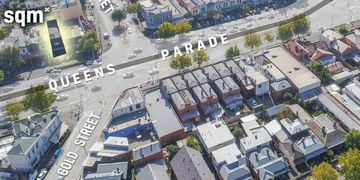 Aerial Image of Melbourne by Hewett Commercial - North Fitzroy and Queens Parade.