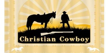 Christian Cowboy home products pillows blankets
