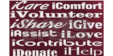 I Volunteer I give I care shirts for volunteers
