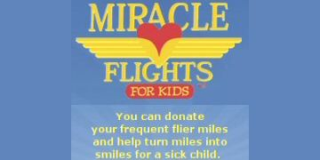 Miracle flights for kids charity