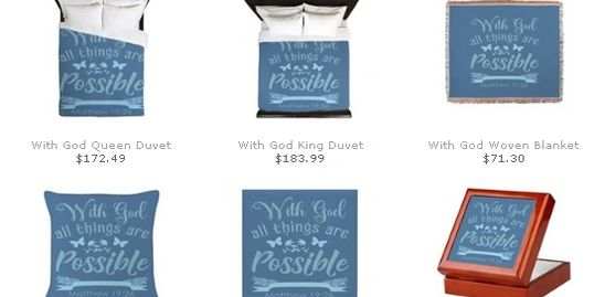 Bible verse home products bedding pillows blankets