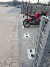 Commercial Secure Motorcycle Parking