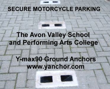 secure motorcycle parking