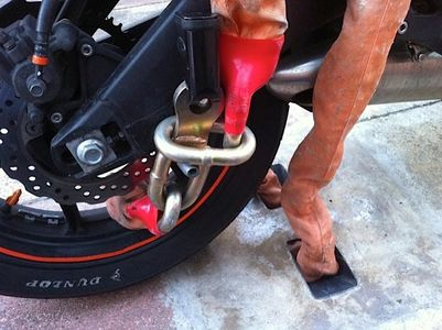 best motorcycle ground anchor