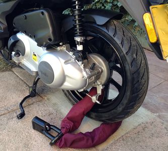 Motorcycle Anchor installation