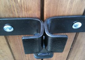 shed security lock