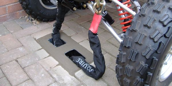 Quadbike Security, Y anchor security ground anchor