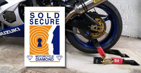 Diamond motorcycle security