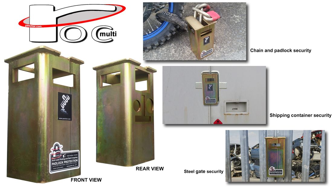 SHIPPING CONTAINER SECURITY LOCK BOX