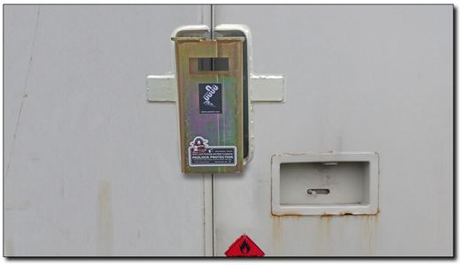 CONTAINER SECURITY LOCK BOX