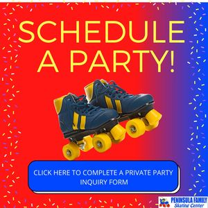Want to schedule a party at the Peninsula Family Sating Center?