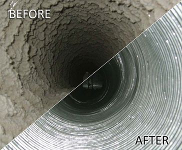 You should consider having your ducts cleaned if: - There is substantial visible growth inside hard