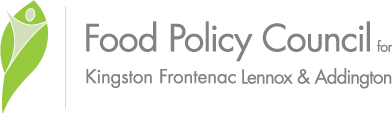 Food Policy Council KFL&A