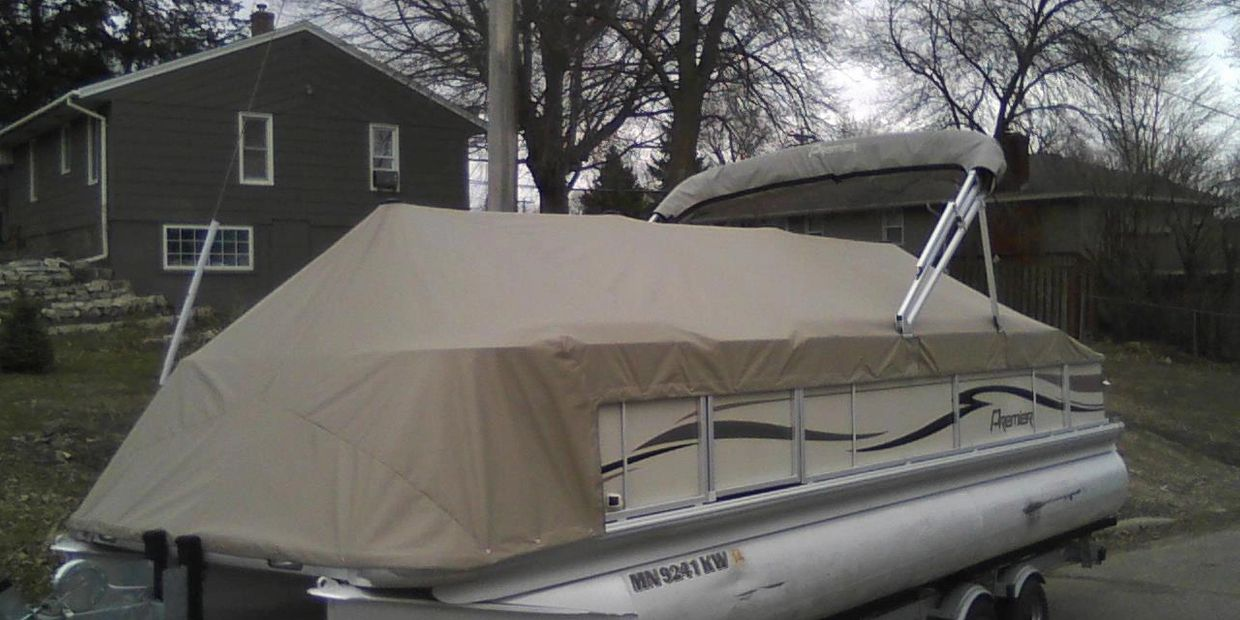 Pontoon Snap Cover