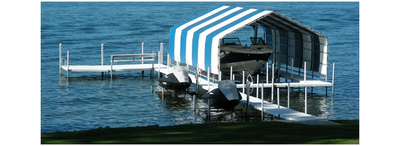 Boat house canopy