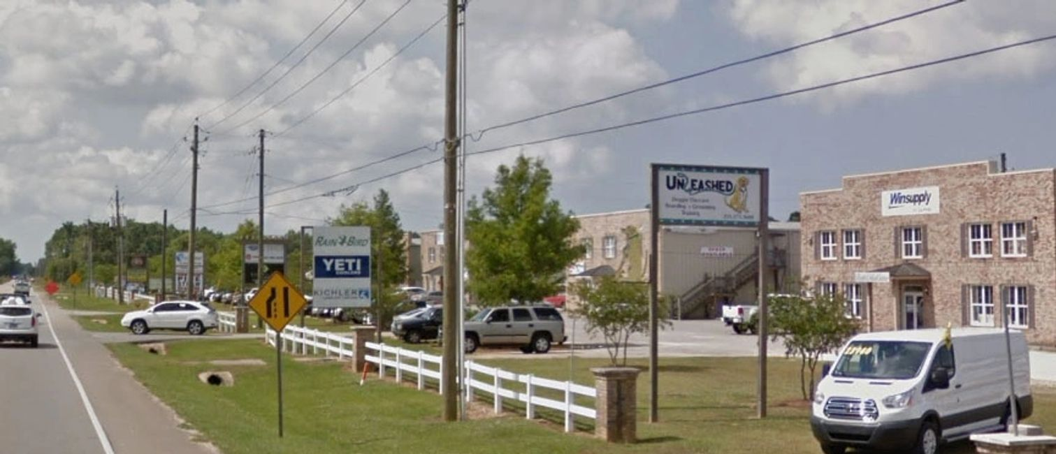 Consolidated Business Park located along Highway 181 in Daphne Alabama.