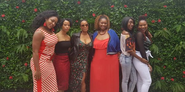 Group Of UK Black Women posing for a fun picture