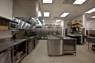 Okanagan Stainless Kelowna Stainless Steel Commercial Kitchen Countertops Hood Shroud Cabinets