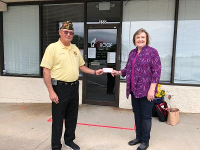 Donation from VFW Post 2667