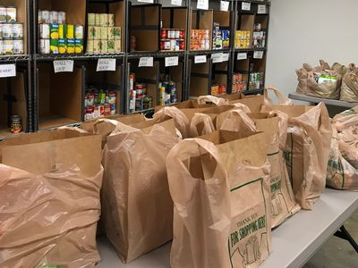 The Church Downtown food bank.  If you need help please reach out and let us help.