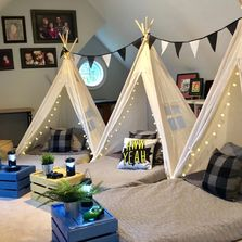teepee sleepover boy party ideas Mississippi party slumber party